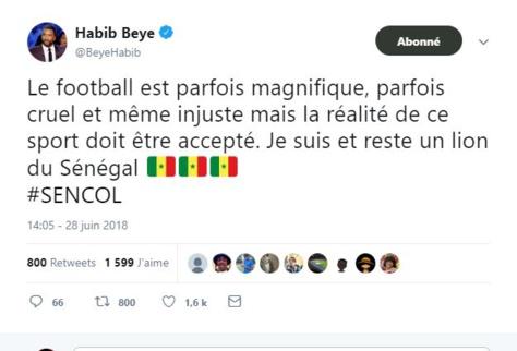 """Habib Bèye : """"Le football est parfois cruel et même injuste. Je suis et reste un lion du Sénégal"""""""