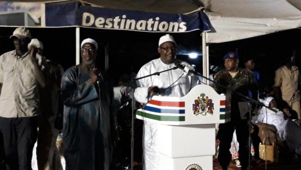 Gambie : Adama Barrow limoge sa vice-présidente et le ministre de l'agriculture