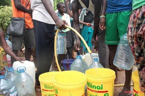 Épidémie de diarrhée présumée à Djeddah Thiaroye Kao : les habitants dénoncent l'eau « puante » de la SDE