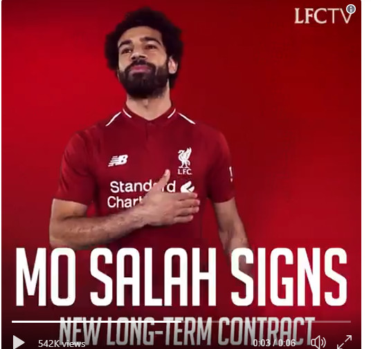 Salah prolonge à Liverpool