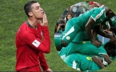 Le message touchant de Ronaldo aux lions de la téranga !