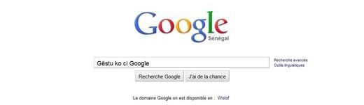 Nouveau sur Google : Rechercher en Wolof désormais possible avec ''Gëstu ko ci Google''