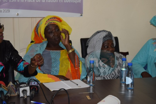 Photos : And Jeggo prépare son AG sous le thème : « La mise en œuvre des politiques du PSE par les femmes : l'exemple réussi de la plateforme And Jéego »