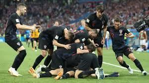 La Croatie a peiné contre la Russie mais s'est qualifiée pour les demies aux tirs au but