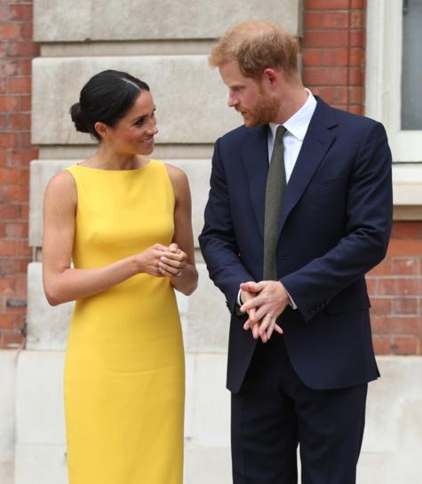 Photos : Meghan Markle et le Prince Harry, un couple glamour