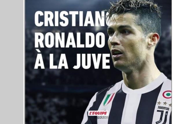 Cristiano Ronaldo rejoint la Juventus Turin (officiel)