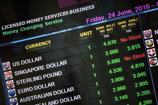 Bourse. MANAN VATSYAYANA / AFP