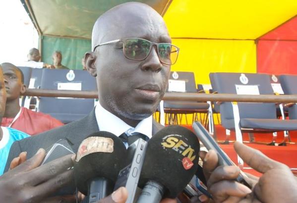 La cérémonie d'inauguration du poste de Gendarmerie de Sébikotane par le Général Meïssa Niang