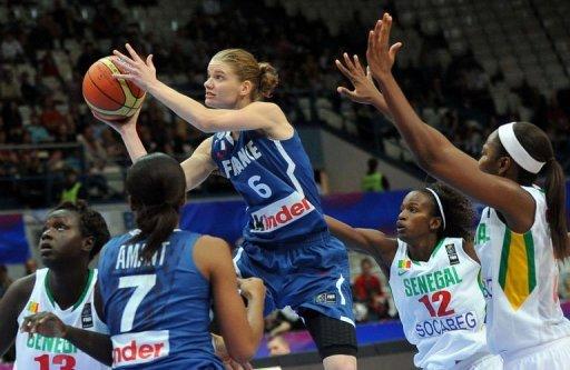 Mondial de basket féminin: galop d'essai réussi pour la France face au Sénégal (45-83)