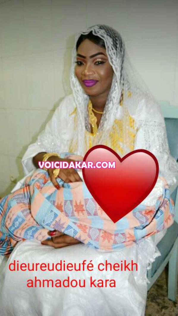 En Exclusivité : les images du baptême de Marième Faye Sall Mbacké, la fille de Serigne Modou Kara et Mame Diarra Wade