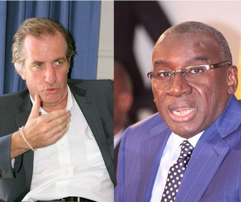 Célébration de la Fête nationale française du 14 juillet à Dakar: S.E Christophe Bigot et Sidiki Kaba en toute complicité