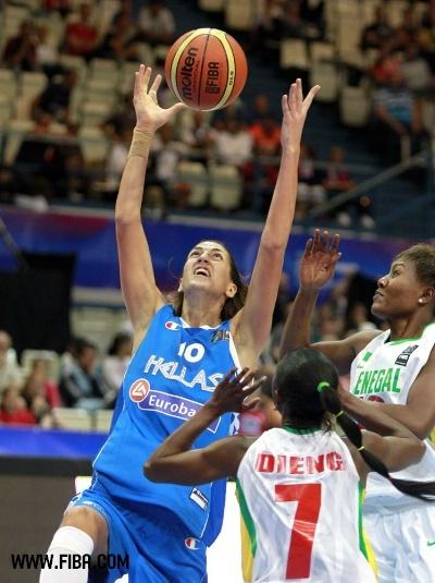La Grèce bat le Sénégal 83 à 68