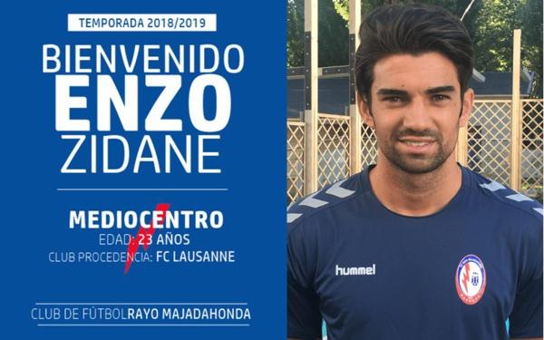Zidane signe en D2 espagnole