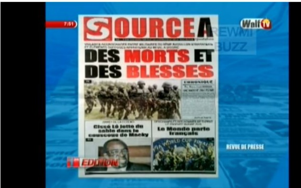Mort de deux soldats en Casamance : Le maire de Djibanar dément le journal « Source A »