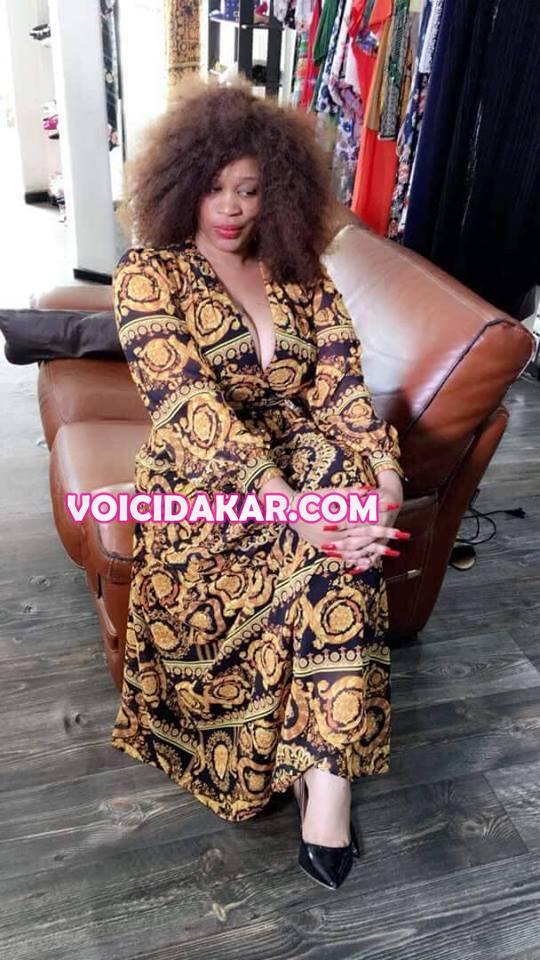 Photos : la séduisante Khadija dévoile sa splendeur