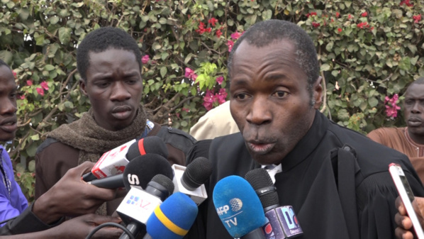 "Me Ousseynou Fall attaque le juge Demba  Kandji : ""Nit day ame diome, nit dafa wara ame fouleu*"""