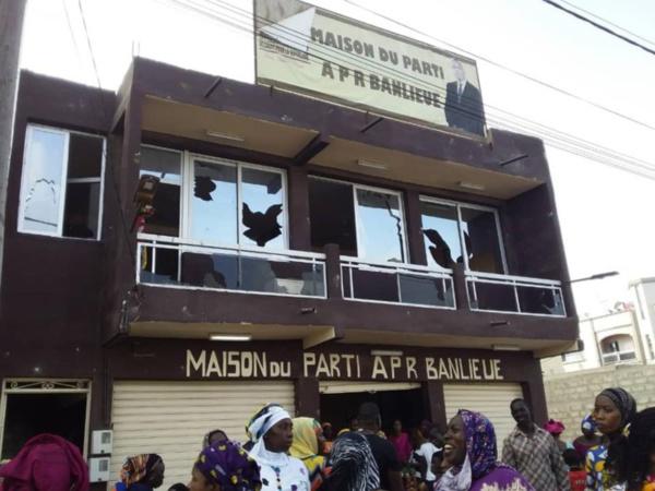 Le siège de l'APR complètement saccagé :  les partisans de Abdou Karim Sall et de Abdoulaye Pouye Obama au banc des accusés