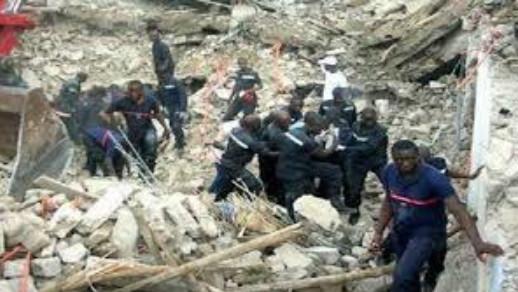Tambacounda : l'affaissement d'un bâtiment en construction fait un mort et plusieurs blessés