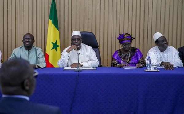 Modou Diagne Fada officialise son alliance avec l'APR pour réélire Macky Sall en 2019