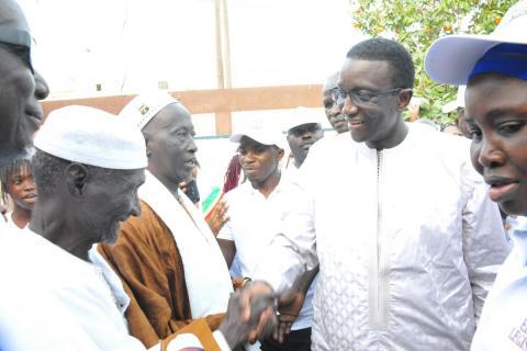 Pénurie d'eau à Dakar : Amadou Bâ annonce un investissement de 500 milliards F Cfa