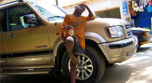 Les mendiants malvenus à Dakar