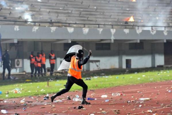 CAN2019 - A trois mois du Sénégal vs Soudan - Le stade Senghor sans pelouse, ni eau