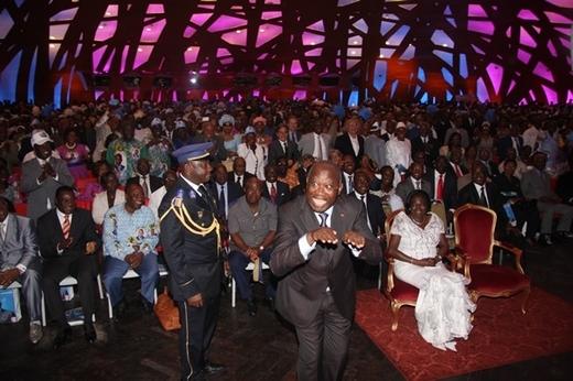 Officiellement Investi, Gbagbo: « Je suis candidat pour la Côte d'Ivoire et pour l'Afrique »