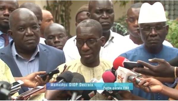 L'opposition à l'Evêque de Dakar: