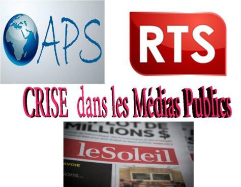 Le Soleil, RTS, APS : Vent de colère dans les médias publics