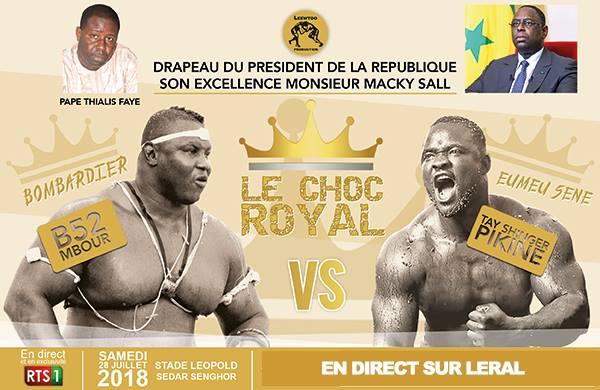 Eumeu Sène-Bombardier: Le combat royal ! ( En Direct HD dans le Youtube et le Facebook de Leral )