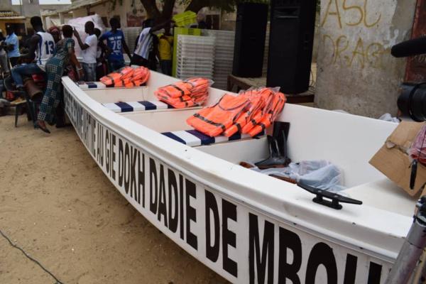 """Remise d'équipements et de financements : les """"Sanglots des Sirènes"""" de Moumbaye"""