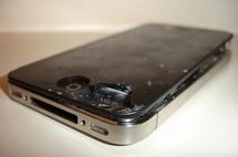 Des casses d'écran plus fréquentes sur l'iPhone 4 ?