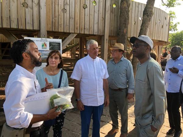 Belgique : Collaboration entre la Pairi Daiza Foundation et la fondation Youssou Ndour