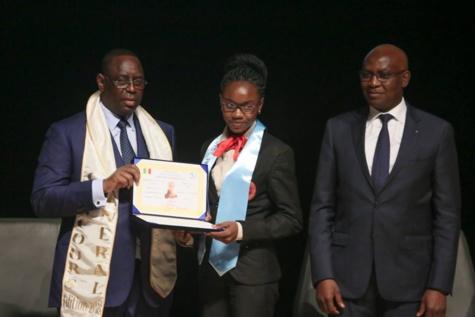 Photos : l'historien Iba Der Thiam, parrain du Concours Général 2018