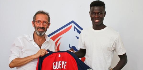 Le jeune défenseur de Dakar Sacré-Coeur Arfang Gueye signe à Lille