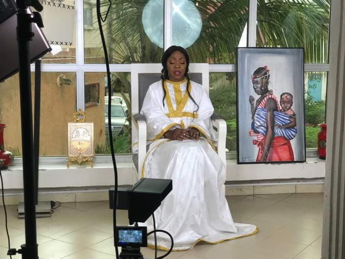 Aby Ndour rend hommage à ses parents