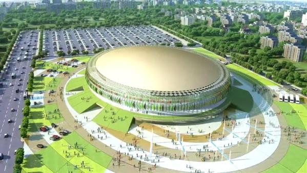 (Vidéo) Basket: « Dakar Arena », le Palais des Sports, fin prêt pour l'inauguration, Regardez!