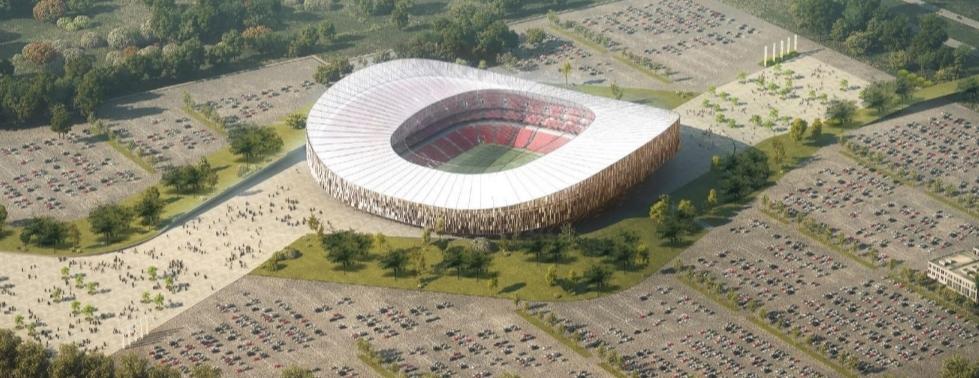 L'ANNONCE DU JOUR AU BÉNÉFICE DE LA JEUNESSE : Un stade de 50.000 place