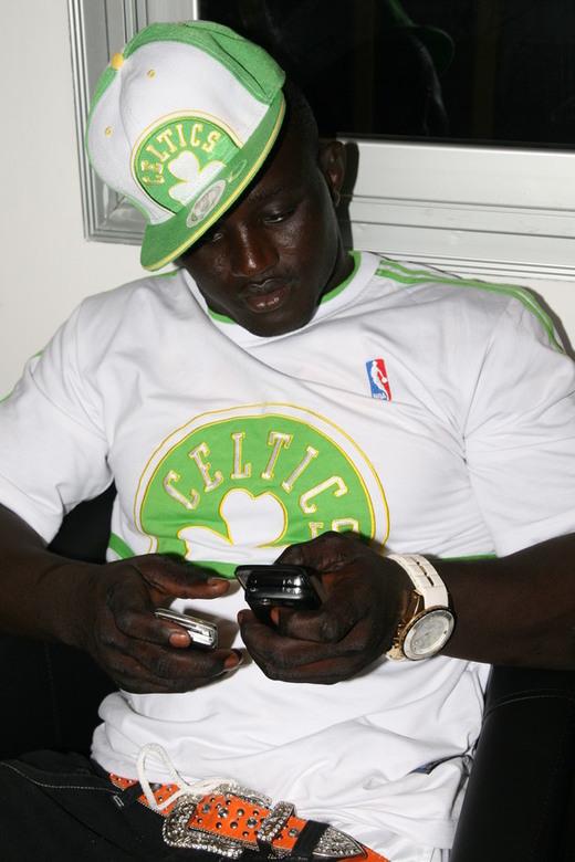 Photos : Le lutteur Balla Gaye devient star du rap