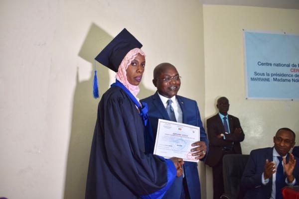  Les nouveaux diplômés du CNFTPA invités à initier des projets innovants