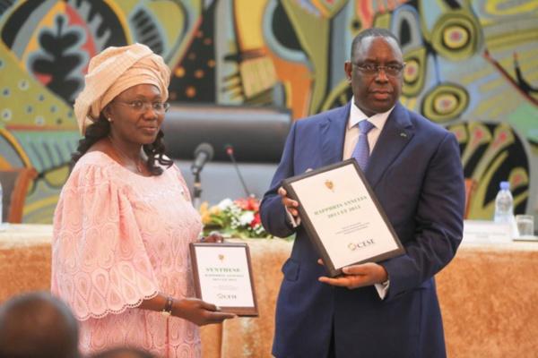 Aminata Tall reconduite à la tête du Conseil Economique Social et Environnemental