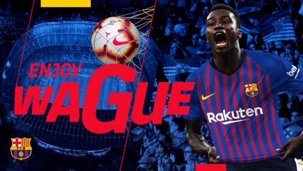 """Diawandou Diagne, ex-joueur du Barça: """"j'ai prévenu Moussa Wagué"""""""