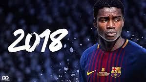 """Moussa Wagué : """"J'intégrerai rapidement l'équipe A du Barça"""""""