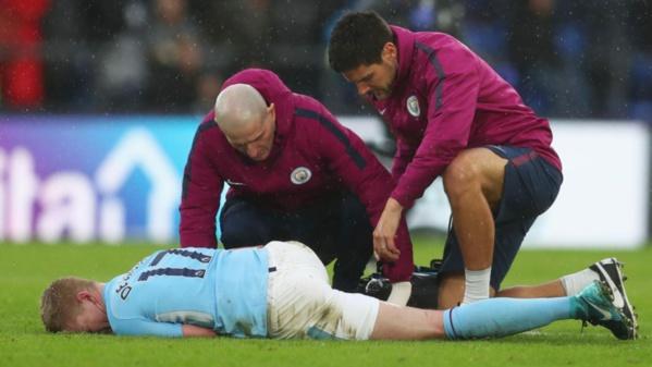 Manchester City : Kevin de Bruyne sérieusement blessé à l'entraînement mercredi
