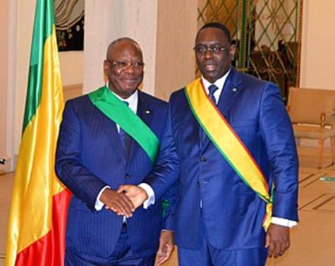 Présidentielle au Mali : Macky Sall félicite IBK  pour sa réélection