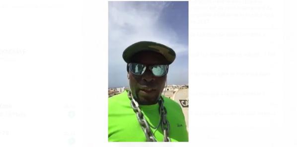 Ndiassé Ndiaye, l'homme qui voulait se suicider vendredi en sautant d'un immeuble à Nord Foire, un « vrai metteur en scène »