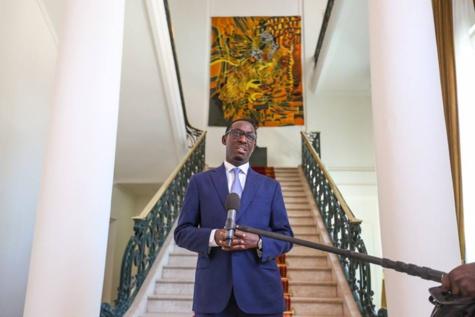 Photos: Babacar Diagne, nouveau président du CNRA, explique sa mission au Président Macky Sall