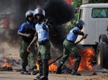 Alpha Condé s'estime vainqueur, des heurts éclatent en Guinée
