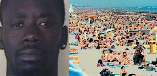 Italie : une touriste de 15 ans violée sur la plage par le Sénégalais Mohamed GueyePar Bitimrew Press le 26 août 2018  Enregistrer