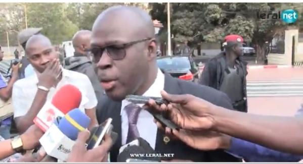 """Parrainage - Cheikh Bamba Dièye : """"On est obligé de…"""""""